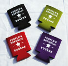 Printed Beer Soda Can Cozie Insulator - People's Republic of Eugene - Oregon