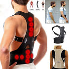 Posture Corrector Support Magnetic Back Shoulder Brace Belt For Men Women Kids