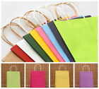 10PCS Paper Carrier Bags with Twisted Paper Handles-Size: 18 x 15x 8cm