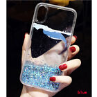 NEW Cute Dolphin Dynamic Liquid Glitter Quicksand Phone Case Cover
