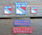 Iron On Sew On Transfer Applique New York Rangers Handmade Cotton Patches $4.99 USD on eBay
