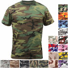 Rothco Camo T-Shirt Military Short Sleeve Tee, Army Camouflage Tactical Tshirt image