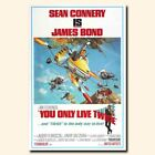 You Only Live Twice 12x18 24x36inch 007 James Bond Movie Silk Poster Wall Decals $9.99 USD on eBay