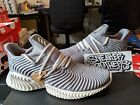 Adidas Alphabounce Instinct Core Heather Grey Clear Brown Raw Desert B76038