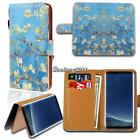 Leather Wallet Card Stand Flip Case Cover For Samsung Galaxy S S2 S3 S4 S5