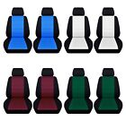 Car Sedan Seat Covers 2012-2017 Ford Focus Front Seat Black and Color ABF