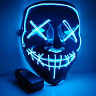 Halloween LED Mask Funny costume from Purge Election Year Great scary party