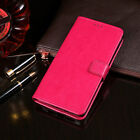 For Samsung Galaxy Note 9 S9 S8+ PU Leather Wallet Card Flip Stand Cover Case