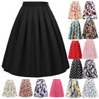 Women Cotton Occident Retro Housewife Vintage 2018 New Fashion Skirts 29 Style