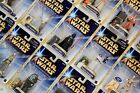 STAR WARS SAGA 2004 (GOLD STRIPE) CARDED FIGURES (A) - ALL MOC - SEE PHOTOS!