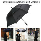 "62""/68"" Extra Large Golf Umbrella Automatic Open Double Canopy Vented Windproof"