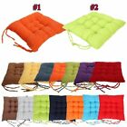 Chair Seat Pads Cushions Patio Home Kitchen Office Indoor Outdoor Dining 40*40CM