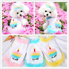 Small Pet Dog Tutu Dress Clothes Yorkie Puppy Princess Birthday Skirt Costume