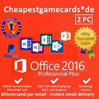 Microsoft Office 2016 Professional Plus 1/2/3/4/5 PC Produkt Key per Email