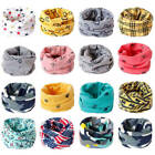 Внешний вид - Warm Cotton Baby Scarf Cartoon Kids O Ring Collar Neck Scarf Head Wear Scarves