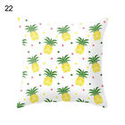 Pineapple Leaf Yellow Pillow Case Sofa Car Throw Cushion Cover Home Decor Comely