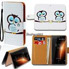 Leather Wallet Card Stand Flip Case Cover For Various BlackBerry SmartPhones