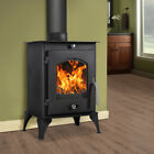 Wood Burning Stove 7.56KW High Efficient Wood Log Burner Multifuel Fireplace