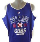 NEW Mens MAJESTIC Chicago Cubs 1876 Baseball Blue MLB Tank Top Big on Ebay