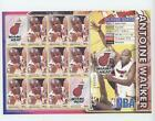 2006-07 Commonwealth of Dominica Post Stamp Sheet Antoine Walker Miami Heat Card on eBay