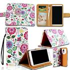 Leather Wallet Stand Flip Case Cover For Various BlackBerry SmartPhones + Strap