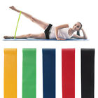 Rubber Resistance Bands Elastic Workout Gym Fitness Band Loop For Yoga Pilates image