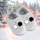 Внешний вид - Winter USB Warmer Foot Shoes Plush Warm Cute Electric Slipper Feet Catlike Heat