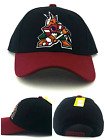 Arizona Coyotes New Reebok Phoenix Vintage Original Coyote Black Red Era Hat Cap