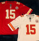 Kansas City Chiefs 15 Patrick Mahomes Mens Stitched Jersey Red White NWT