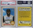 2017 Topps Heritage Minor League Edition ROA-JH Jacob Heyward PSA 10 GEM MT Auto <br/> Fulfilled by COMC - World&rsquo;s largest consignment service