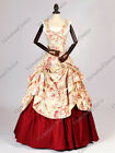 Civil War Southern Belle Scarlett O'Hara Prom Gown Dress Cosplay Clothing 081