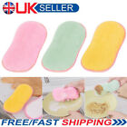 Double Sided Cleaning Scouring Pads Antibacterial Scrubbing Sponges Scourer UK