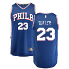 Jimmy Butler 76ers NEW Stitched Swingman Jersey White/Blue GET IT FIRST!!!