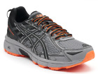 ASICS Gel Venture 6 Mens Running Shoes Size 8 13 Color Gray Black Orange