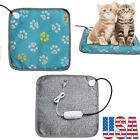 Pet Electric Heat Pad Heater Mat Warming Blanket Heating Dog Cat Warmer Bed USA