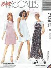 McCall's 7726 Misses' Pullover Dress 12, 14, 16 *Compare @ $8   Sewing Pattern