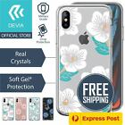 iPhone XS Max XR XS X Genuine DEVIA®Slim Floral Flower TPU Soft Cover For Apple