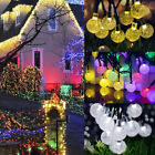 LED Stars Flower Decor Lights 30/50 Fairy String Wedding Party Xmas Home Garden