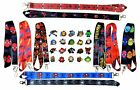 Marvel Spiderman Lanyard Set w/ 5 Themed Disney Park Trading Pins ~ Brand NEW