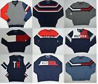 NWT Men's Tommy Hilfiger Pullover Sweater Most  Sizes XS S M L XL XXL