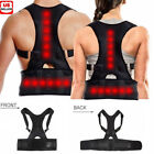 Внешний вид - Magnetic Therapy Posture Corrector Body Back Pain Brace Shoulder Support Belt US