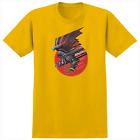 REAL Skateboards KELLY BIRD Screaming Bird Reissue T-Shirt image