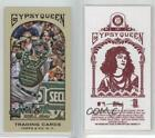 2011 Topps Gypsy Queen Mini Red Back #147 Kurt Suzuki Oakland Athletics Card