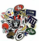 NFL LOGO DIE CUT VINYL STICKER SELECT FROM ALL TEAMS OR COMPLETE SET on eBay