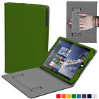 Forefront Cases Leather Strap Smart Case Cover Sleeve for Linx 810 / 820