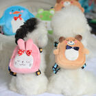 Lovely Pet Dog Backpack Harness Leash Poodle Puppy Cat Carrying Bag for Outdoor