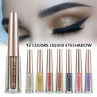 Liquid Eyeshadow Waterproof Long Lasting Shimmer Metallic Glitter Eye Shadow