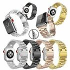 Stainless Steel Wrist Band Clasp for Apple Watch Series 4/3/2/1 iWatch 38/42mm image