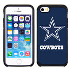 Official Dallas Cowboys Pebble Feel ShockProof Hybrid Cover Case for Cell Phone