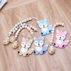 Внешний вид - Silicone Teether Beads Pacifier Chain Clip Baby Teething Ring Baby Pacifier Clip